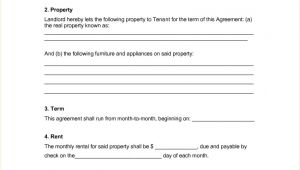 Renters Contract Template Free 30 Basic Editable Rental Agreement form Templates Thogati