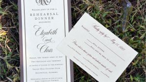 Reply for Wedding Card Invitation Rehearsal Dinner Invitation Response Card From Wiregrass