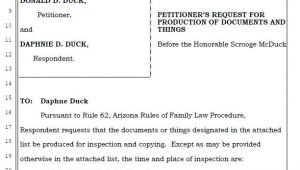 Request for Production Of Documents Template Request for Production Of Documents and Things Access Legal