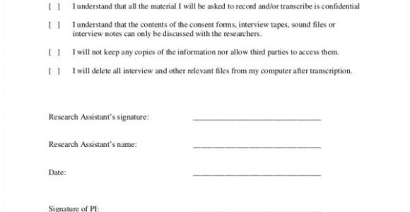Research assistant Contract Template 21 Confidentiality Agreement Samples Templates Pdf Word