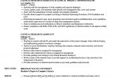 Research assistant Contract Template Clinical Research assistant Resume Samples Velvet Jobs