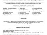 Research Student Resume top Finance Resume Templates Samples