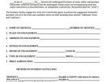 Reservation Contract Template 12 Artist Contract Templates Pages Word Docs
