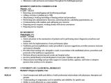 Resident Engineer Resume Director Of Resident Services Resume the Arc Morris