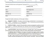 Residential Building Contract Template 19 Construction Agreement Templates Word Pdf Pages