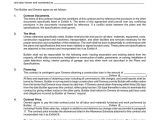 Residential Building Contract Template Residential Construction Agreement In Word and Pdf formats