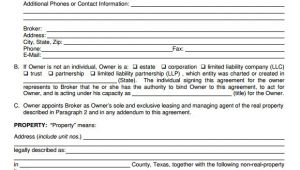 Residential Property Management Contract Template Property Management Agreement 10 Download Free