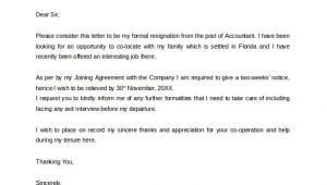 Resignation Email to Manager Templates formal Resignation Letter 16 Download Free Documents In
