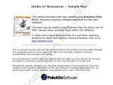 Restaurant Business Plan Template Pdf Restaurant Business Plan Template 7 Free Pdf Word