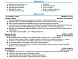 Resumé Samples Free Resume Examples by Industry Job Title Livecareer