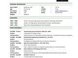 Resume and Job Application Jobs 15 Job Application Cv Sap Appeal