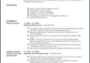 Resume Basic Language Skills Language Skills Teacher Resume Template Teaching Resume