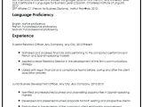 Resume Basic Language Skills Resume Language Skills Wikirian Com