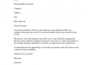 Resume Cover Letter Examples Job Application Example Of Resume Cover Letters Sample Resumescover Letter