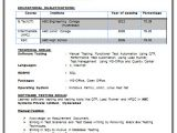 Resume for Btech Students B Tech Resume Fresher No Experience Free Download 1