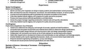 Resume for Engineering Job Best Civil Engineer Resume Example Livecareer
