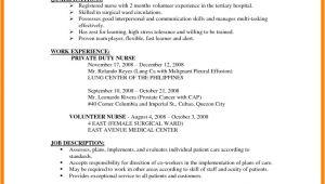 Resume for Job Application 8 Cv Sample for Job Application theorynpractice