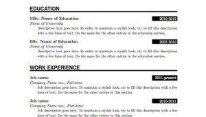 Resume for Job Application Pdf Download Simple Resume format Pdf Resume Pdf Resume format