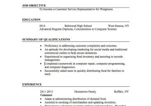 Resume for Students with No Experience 21 Basic Resumes Examples for Students Internships Com