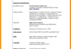 Resume for Students with No Experience 7 Cv Samples for Students with No Experience