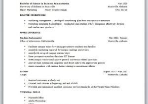 Resume for Students with No Experience College Students Resume with No Experience College