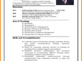 Resume for Teacher Job Application Pdf 11 Cv formats Samples for Job theorynpractice