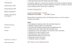 Resume for Teacher Job Application Pdf Teacher Resume Examples 26 Free Word Pdf Documents