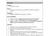 Resume format for Abroad Job Abroad Resume New