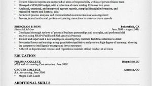 Resume format for Accountant Job Accountant Resume Sample and Tips Resume Genius
