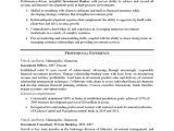 Resume format for Bank Job Progtedertio Example Of Resume