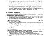 Resume format for Bank Job Sample Banking Resumes Sample Resumes