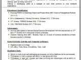 Resume format for Bsc Chemistry Freshers 100 Resume format for Experienced Sample Template Of A