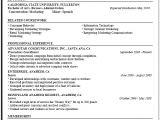Resume format for Company Job Business Resume Sample Career Center Csuf