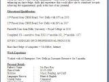 Resume format for Company Job Company Secretary Fresher Resume format
