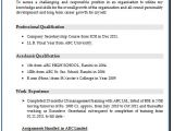 Resume format for Company Job Over 10000 Cv and Resume Samples with Free Download