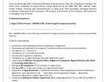 Resume format for Company Job Resume Company Secretary Ziaul 1