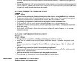 Resume format for Corporate Job Manager Corporate Communications Resume Samples Velvet Jobs