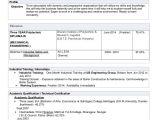 Resume format for Diploma Freshers Cv Resume Alok Choudhary Diploma Mechanical Engineering