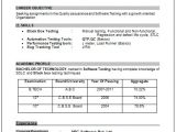 Resume format for Ece Freshers Sample Template Of An Excellent B Tech Ece Electronics