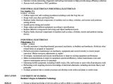 Resume format for Electrician Job 10 Resumes for Electrician Apprentice Resume Samples
