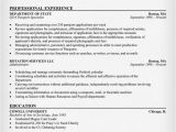 Resume format for Government Job In India Government Jobs Resume Example Resumecompanion Com
