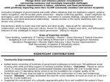 Resume format for Government Job In India top Government Resume Templates Samples