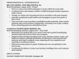 Resume format for Housekeeping Job Housekeeping Resume Sample Resume Companion