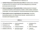 Resume format for Hr Job Hr Resume format Template 9 Free Word Pdf format