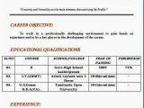 Resume format for Iti Fresher Bachelor Of Business Administration Resume