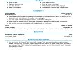 Resume format for Job Experience Experienced Resume Templates to Impress Any Employer