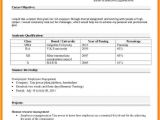 Resume format for Job In Excel Sheet 5 Cv In Excel format theorynpractice
