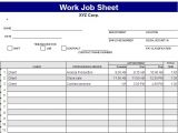 Resume format for Job In Excel Sheet Free Excel Spreadsheet Templates Delivery Job Sheet