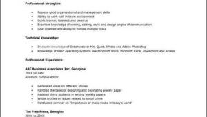 Resume format for Job Interview In Word College Interview Resume Template Free Samples
