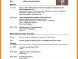 Resume format for Job Interview Resume format Sample for Job Application Letters Free